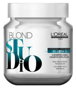 Паста безаміачна для висвітлення L'Oreal Professionnel Blond Studio Platinium Ammonia Free, 500 мл - 00-00010734