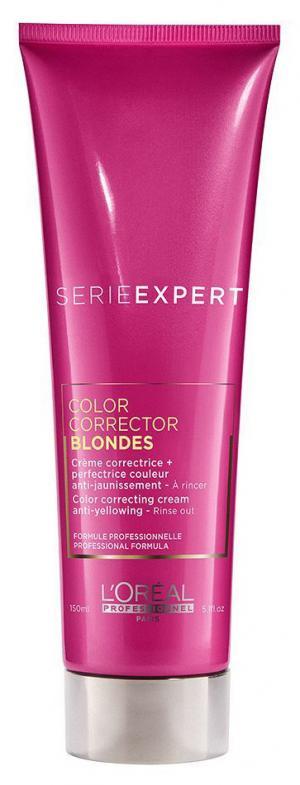 Крем для корекції жовтих відтінків L'Oreal Professionnel Vitamino Color CC Blonde, 150 мл - 00-00010755