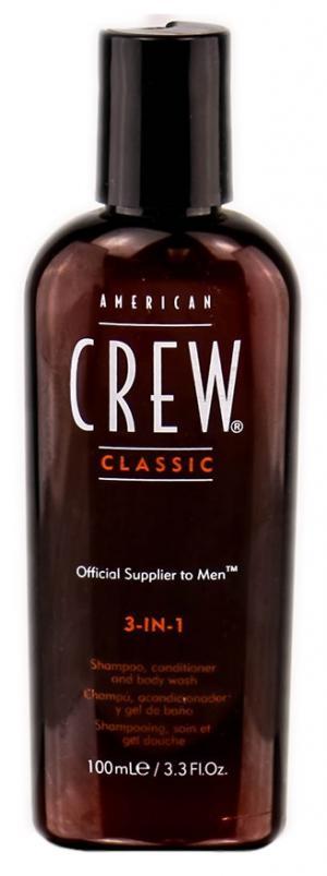 Пробник засіб для догляду за волоссям та тілом 3-в-1 American Crew 100 мл - 00-00010927