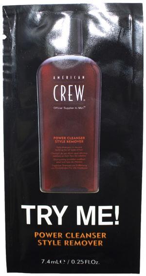 Пробник шампунь для глибокого очищення American Crew 7,4 мл - 00-00010931