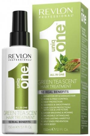 Спрей для волос с екстрактом зеленого чая Revlon Professional Uniq One All in One 150 мл - 00-00010936