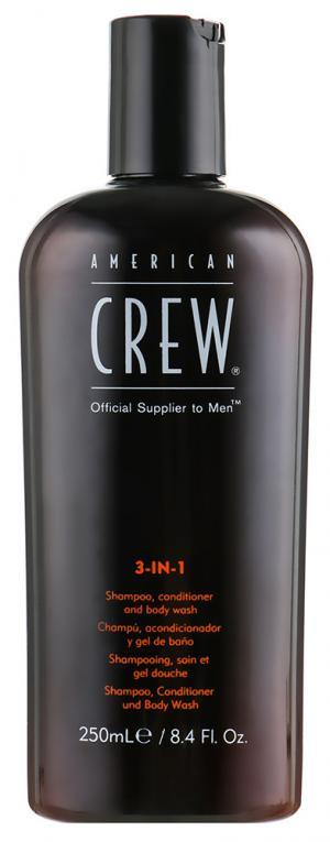 Засіб для догляду за волоссям та тілом 3-в-1 American Crew Classic 250 мл - 00-00011041