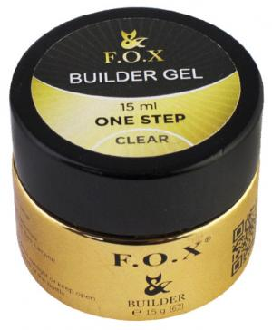 Однофазний гель будівельний FOX Clear 15 мл  - 00-00011119