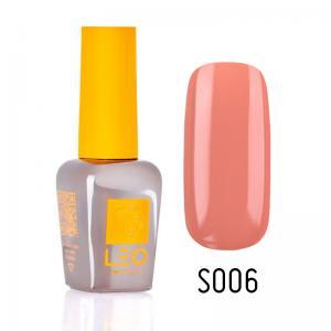 Гель-лак для нігтів LEO seasons №006 Щільний тьмяно-кораловий (емаль) 9 мл - 00-00011285