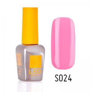 Гель-лак для нігтів LEO seasons №024 Щільний французький розовий (емаль) 9 мл - 00-00011291