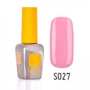 Гель-лак для нігтів LEO seasons №027 Щільний блідо-бежевий (емаль) 9 мл - 00-00011293