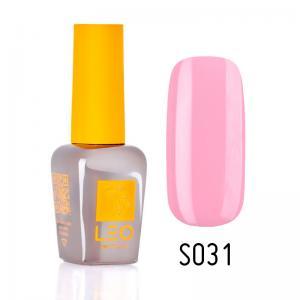 Гель-лак для нігтів LEO seasons №031 Щільний ніжно-рожевий (емаль) 9 мл - 00-00011297