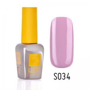 Гель-лак для нігтів LEO seasons №034 Щільний блідий ліловий (емаль) 9 мл - 00-00011300