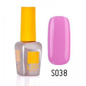 Гель-лак для нігтів LEO seasons №038 Щільний світло-ліловий (емаль) 9 мл - 00-00011304