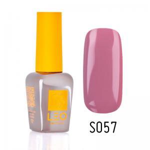 Гель-лак для нігтів LEO seasons №057 Щільний блідо-малиновий (емаль) 9 мл - 00-00011326