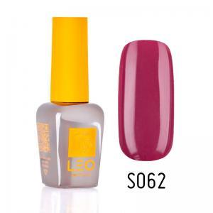 Гель-лак для нігтів LEO seasons №062 Щільний бургунди (емаль) 9 мл - 00-00011330