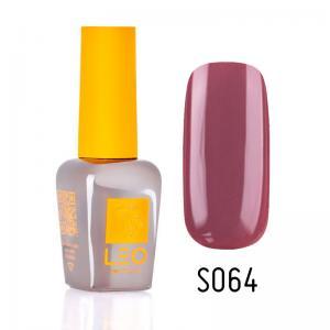 Гель-лак для нігтів LEO seasons №064 Щільний бордовий (емаль) 9 мл - 00-00011332