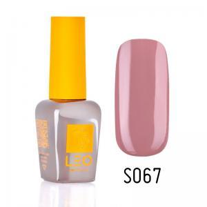 Гель-лак для нігтів LEO seasons №067 Щільний сірий рожевий (емаль) 9 мл - 00-00011333