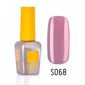 Гель-лак для нігтів LEO seasons №068 Щільний рожевий з фіолетовим відтінком (емаль) 9 мл - 00-00011334
