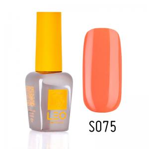 Гель-лак для нігтів LEO seasons №075 Щільний морквяний (емаль) 9 мл - 00-00011336