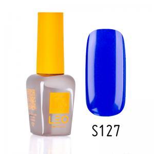 Гель-лак для нігтів LEO seasons №127 Щільний яскравий синій (емаль) 9 мл - 00-00011354