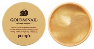 Патчи гидрогелевые под глаза Petitfee Gold & Snail 60 шт - 00-00011398