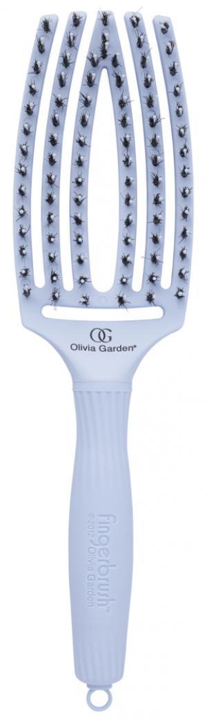Щітка масажна Olivia Garden Finger Brush Combo PASTEL Blue  - 00-00011461