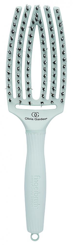 Щітка масажна Olivia Garden Finger Brush Combo PASTEL Green - 00-00011462