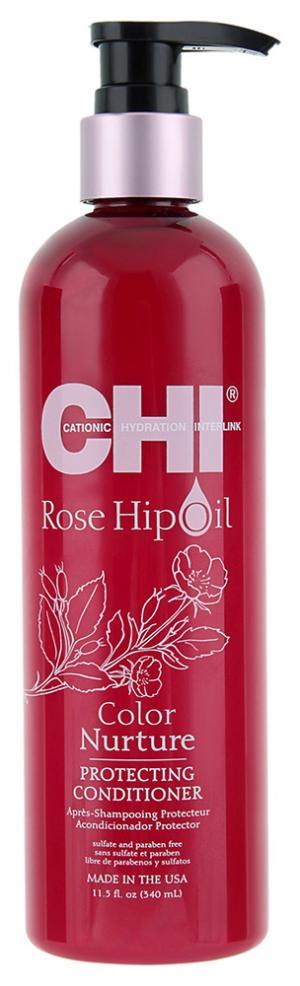 Кондиционер защитный с маслом шиповника Chi Rose Hip Protecting 340 мл - 00-00011499