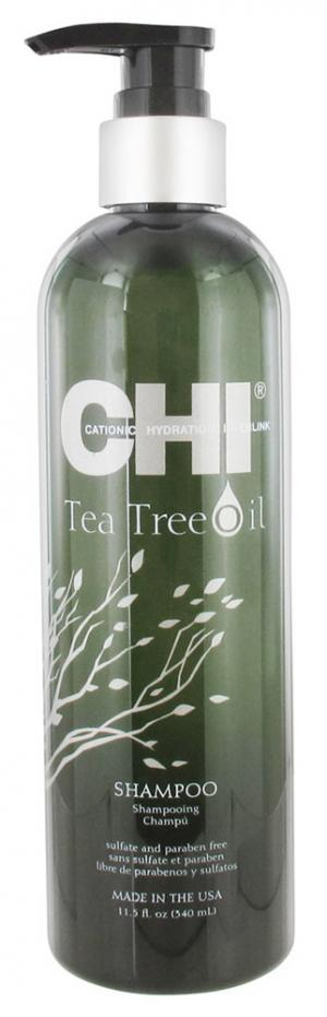Шампунь з маслом чайного дерева Chi Tea Tree Shampoo 340 мл - 00-00011504