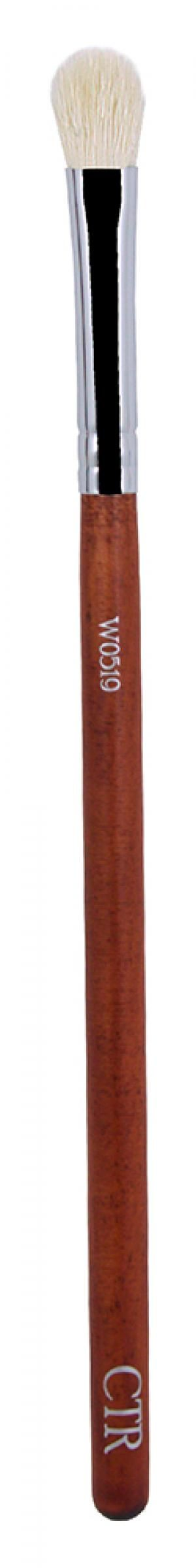 Кисть для нанесення і розтушування тіней ворс кози W0519  - 00-00011578
