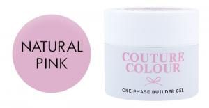 Однофазний гель Couture color 1-phase Builder Gel Natural Pink 15 мл  - 00-00011757