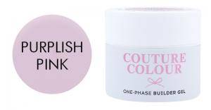 Однофазний гель Couture color 1-phase Builder Gel Purplish pink 15 мл  - 00-00011758