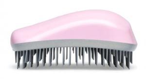 Щетка для волос Dessata Maxi розово-серебряная - 00-00011818