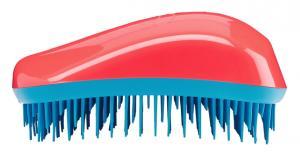 Щетка для волос Dessata Maxi кораллово-бирюзовая - 00-00011827