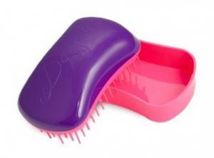 Щетка для волос Dessata Mini фиолетовая-фуксия - 00-00011841