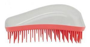 Щетка для волос Dessata Original бело-коралловая - 00-00011859