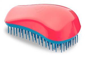 Щетка для волос Dessata Original кораллово-бирюзовая - 00-00011868