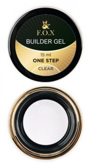 Моделюючий гель FOX Builder gel Clear 15 мл  - 00-00012015