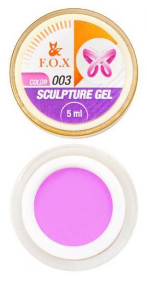 Гель-пластилін FOX Sculpture 003 5 мл  - 00-00012025