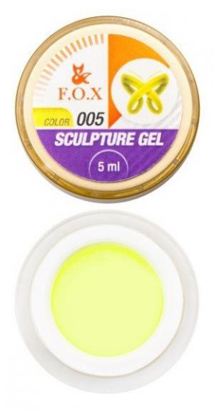 Гель-пластилін FOX Sculpture 005 5 мл  - 00-00012027
