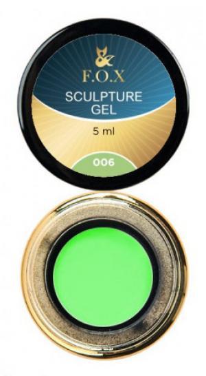 Гель-пластилін FOX Sculpture 006 5 мл  - 00-00012028