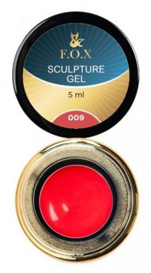 Гель-пластилін FOX Sculpture 009 5 мл  - 00-00012031