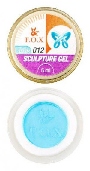 Гель-пластилін FOX Sculpture 012 5 мл  - 00-00012034