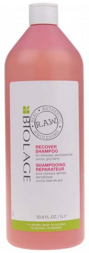 Шампунь для віднолвлення пошкодженого волосся Matrix Biolage RAW Recover 1000 мл - 00-00012181