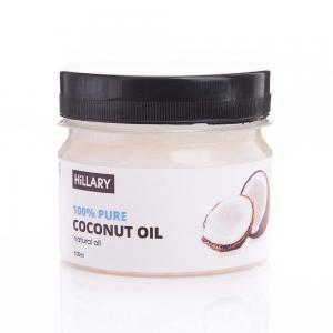 Олія кокосова рафінована Hillary Premium Quality Coconut Oil 100 мл  - 00-00012224