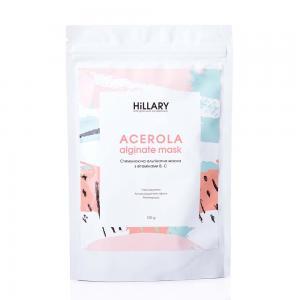 Маска стимулююча альгінатна з вітамінами В, C Hillary Acerola 100 г - 00-00012235