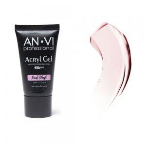 Акрил - гель ANVI для нігтів Pink Blush 30мл - 00-00012237