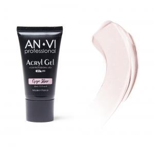 Акрил - гель ANVI для нігтів Crepe Shine 30мл - 00-00012252