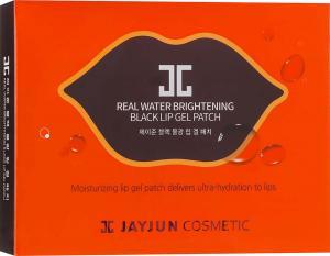 Патчи для губ JAYJUN Real Water Brightening Bleck Lip Gel Patch (5шт.) - 00-00012350