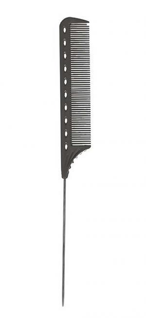 Расческа с хвостиком Y.S.Park YS-102 Black - 00-00012408