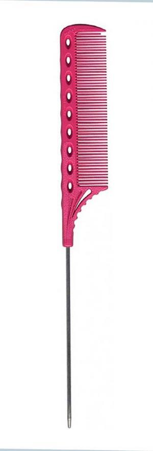 Расческа с хвостиком Y.S.Park YS-108 Pink - 00-00012411