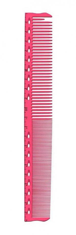 Расческа для обучения с разметкой Y.S.Park YS-G45 Pink 220мм - 00-00012444