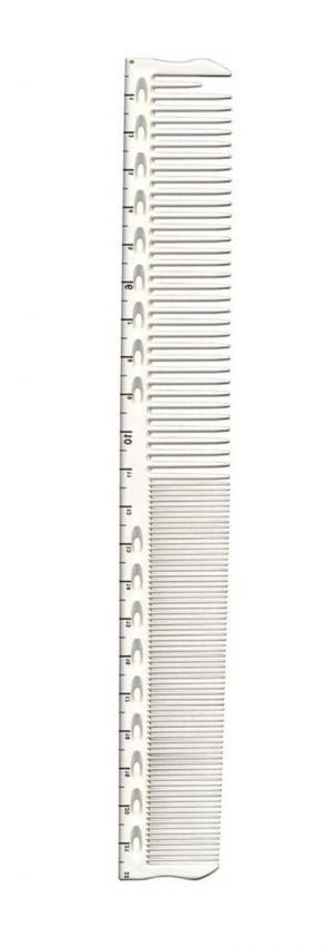 Расческа для обучения с разметкой Y.S.Park YS-G45 White 220мм - 00-00012446