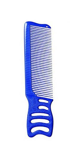 Расческа для барберов Y.S.Park YS-247 Blue 187мм - 00-00012455